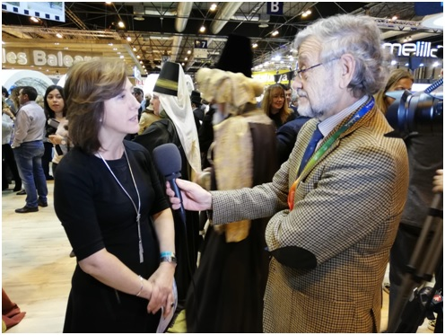 Con la Directora  General de Turismo de Aragón  Mª Luisa Romero Fuertes